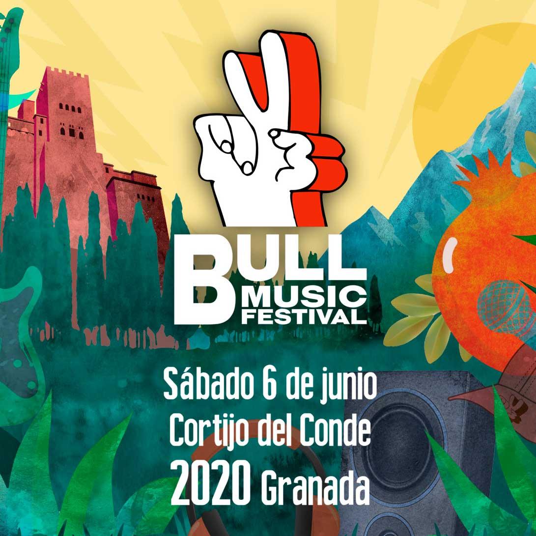 Bull Music Festival se consolida como festival urbano y anuncia que se celebrará el 6 de junio en el Cortijo del Conde de Granada